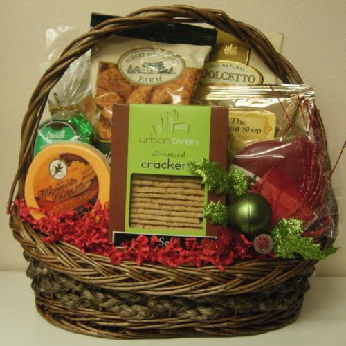 Christmas Gourmet GIft Basket Product Id: CGBG5500 Price: 55.00 (USD)