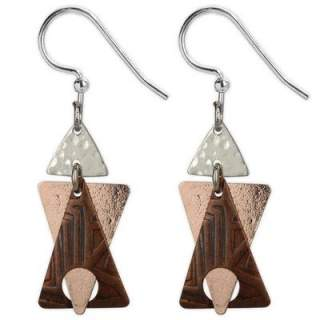 Triangles Hypoallergenic Dangle Earrings