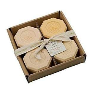Simply Bee Well Set of 4 Honey Bar Soap Set