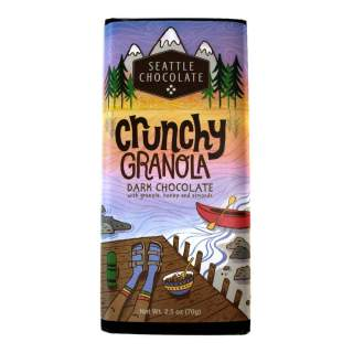 Crunchy Granola Dark Chocolate 3 pack