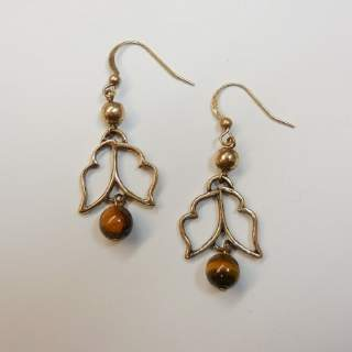 Jim Shore Open Swirls Earrings