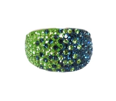 Chelsea Taylor Ring Seattle Seahawks Colors Size 8 Chelsea Taylor Jewelry Frannis Online Store